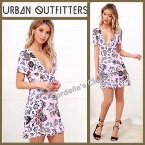 NWT [ Urban Outfitters ] Floral Button Down Dress